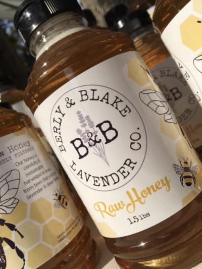 raw lavender honey